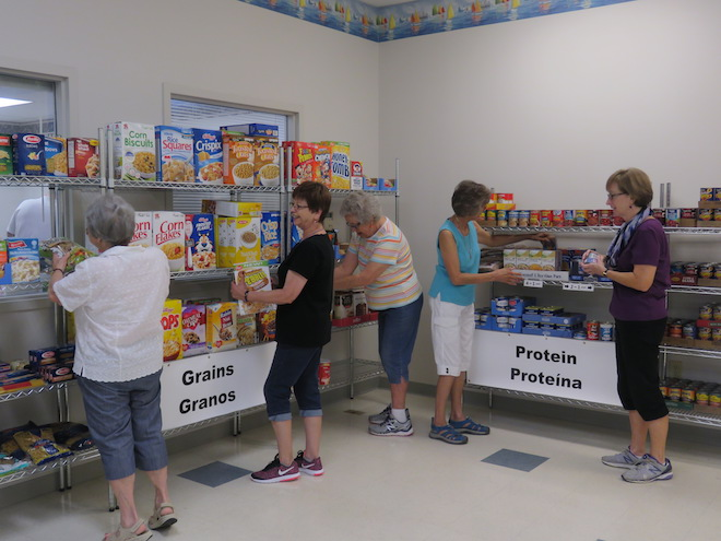 Food pantry renovates space at St. Andrew