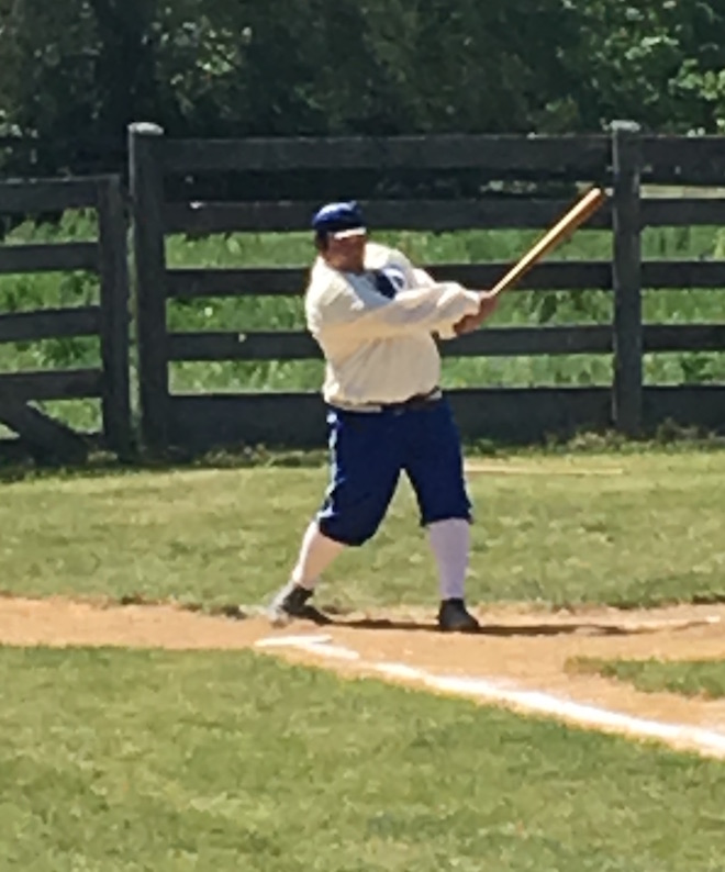 America's Pastime with a glimpse of the past