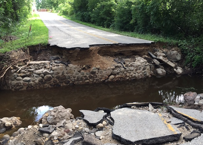 East Troy recovers from flooding