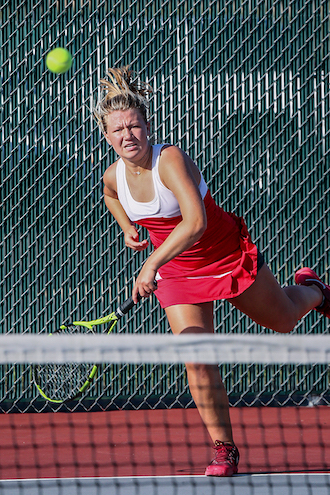 Lady Chiefs tennis team wins three of four