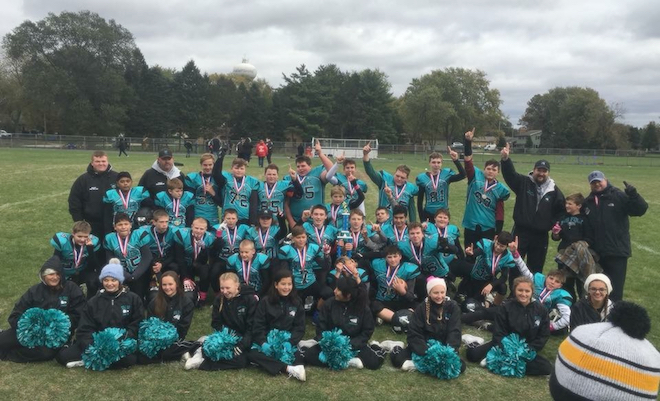 Wolves undefeated season leads to title