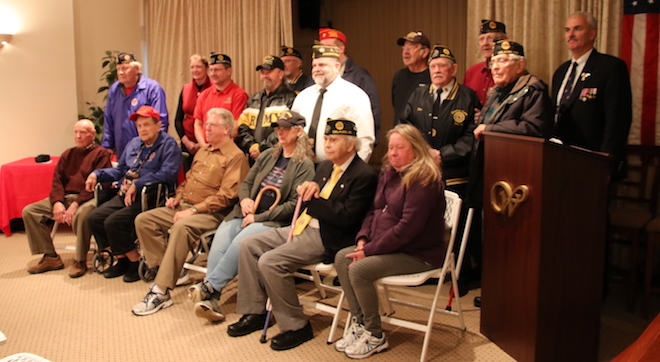 Veterans honored at special program