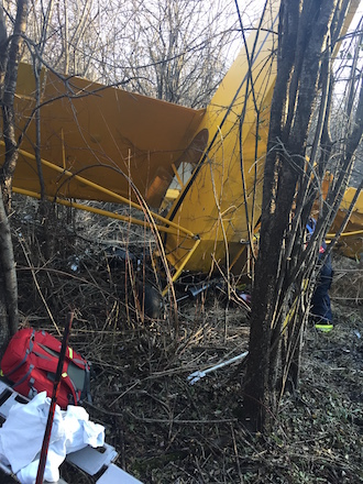 Local man one of two injured in plane crash