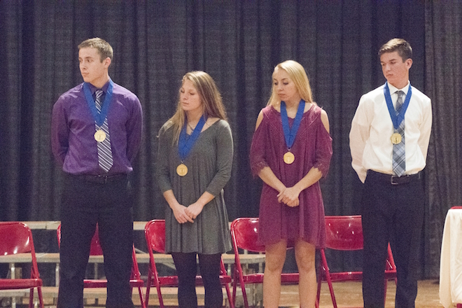 New NHS members inducted at WHS