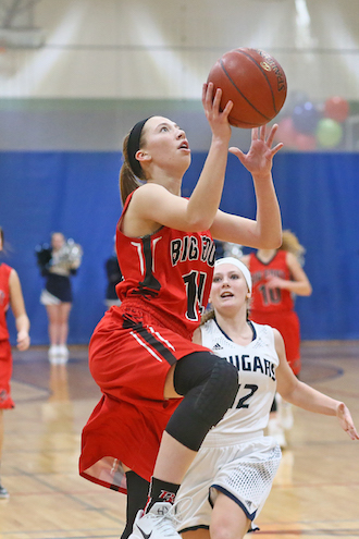 Lady Chiefs take down Cougars in close game