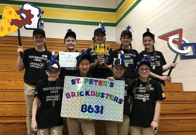 Brickbusters bring home state championship