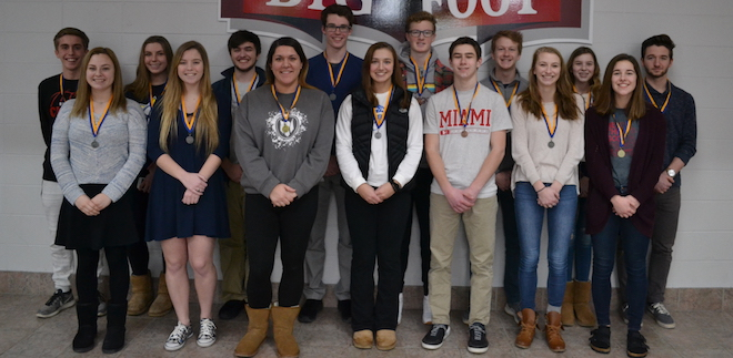 Future Business Leaders from BFHS qualify for state