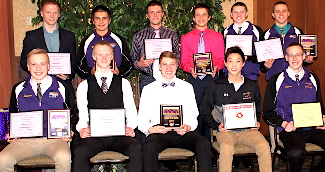 Elks swimmers honored