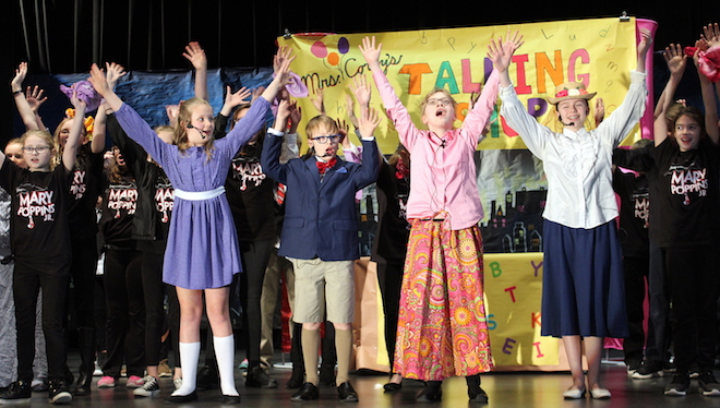Youngsters to present 'Mary Poppins, Jr.'