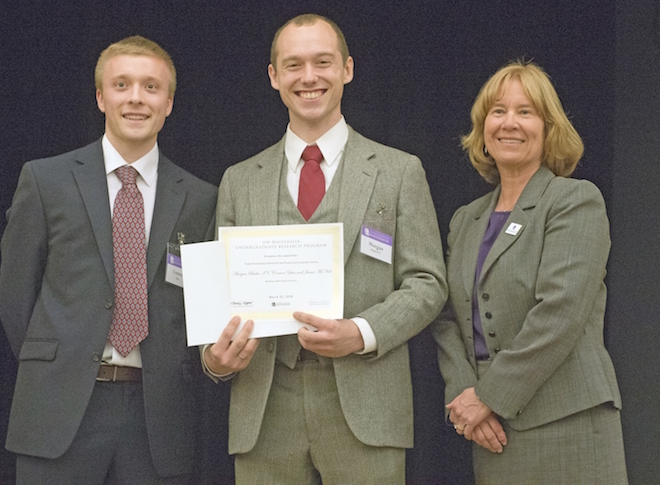 Palmyra's Butler receives award at UWW Undergrad Research Day