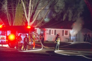 Two displaced by Whitewater residential fire