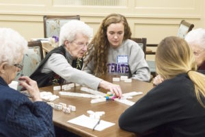 Warhawks, Fairhaven have first-ever 'Afternoon of Fun with Warhawk Athletes'