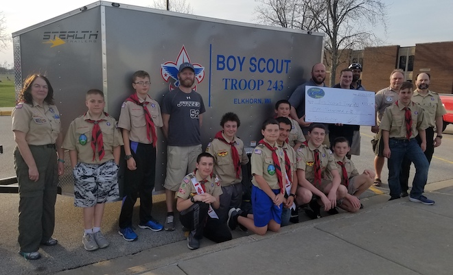 Elkhorn scouts attend Lincoln Pilgrimage