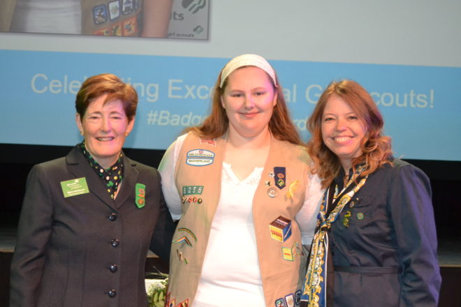 Genoa City Girl Scout earns award for butterfly garden project
