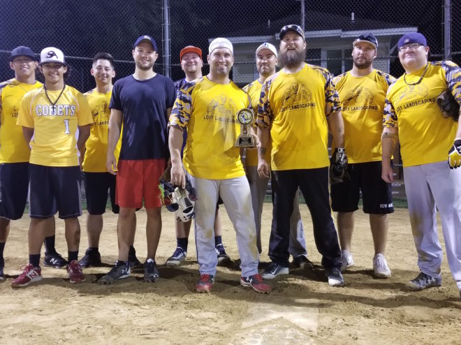 Lofy Landscaping wins consolation championship in Lake Geneva YMCA softball