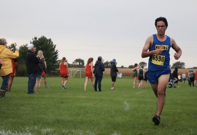 Comets top finisher