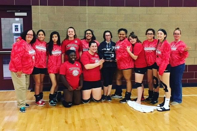 WSD volleyball team finishes second in Great Plains tournament