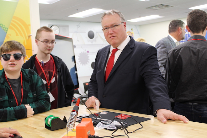 Badger High School opens PHab Lab