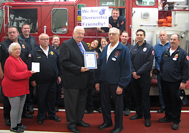 Lake Geneva FD receives Purple Angel designation