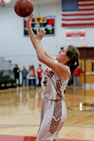 Big Foot girls roll past Edgerton