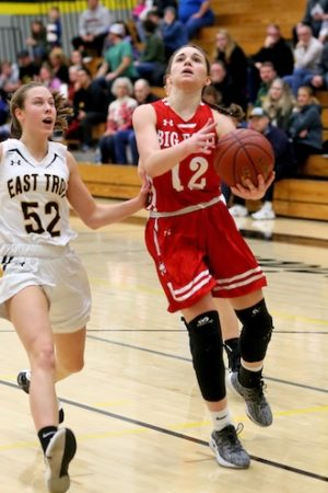 Big Foot girls snap three-game losing streak