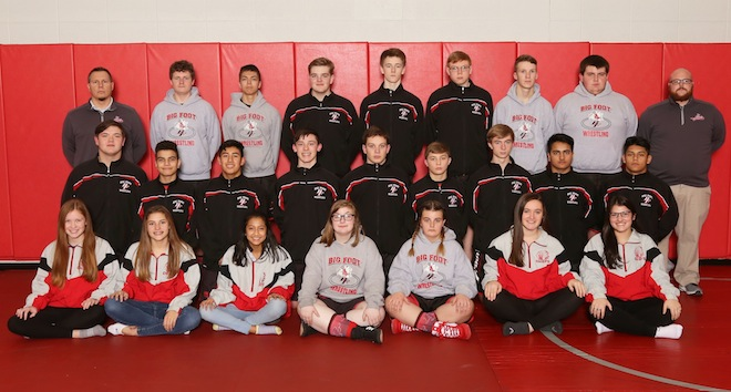 Chiefs wrestling team wraps up season