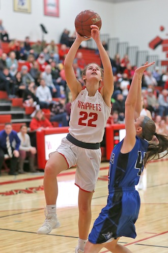 Laue comes up big for Whippets girls