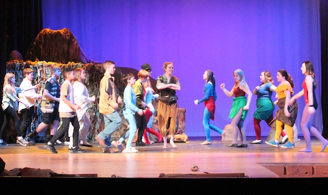 Peter Pan will be flying at EAHS