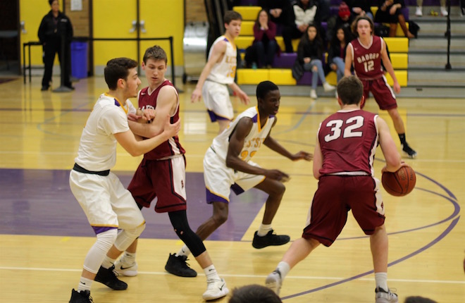 Badger boys fall to No. 1 seed