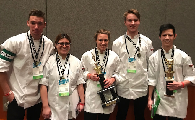 Congratulations to the cooks