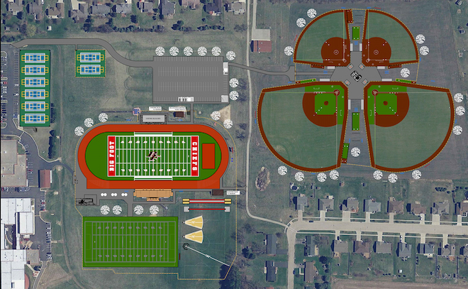 Big Foot Athletic Complex to break ground