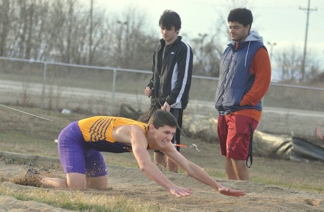 Elks track team getting better 'one race at a time'