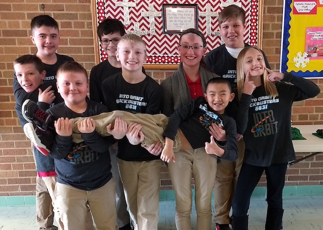 Brickbusters compete at state
