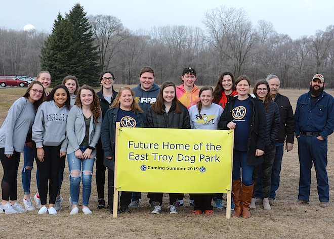 Key Club approaches fundraising goal for dog park