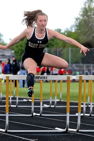 Girls track wins regional title, boys finish fourth
