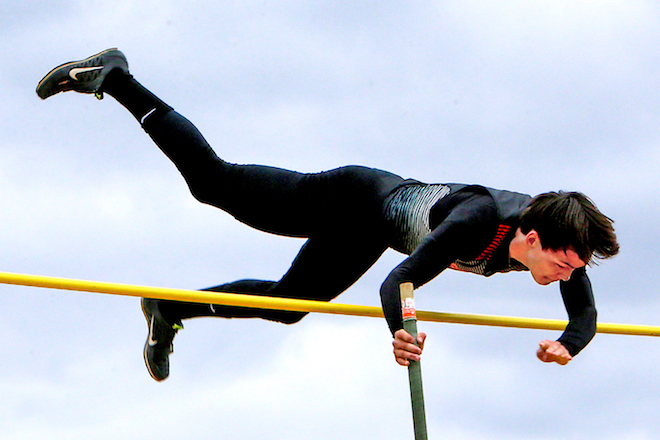 Vaulting to a title