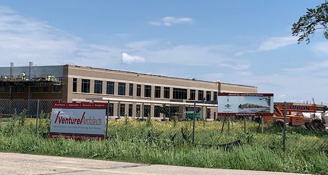 HHS building project ahead of schedule