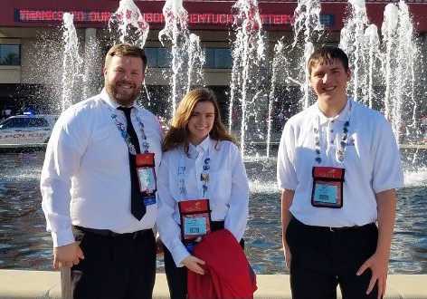 EAHS students compete in SkillsUSA nationals