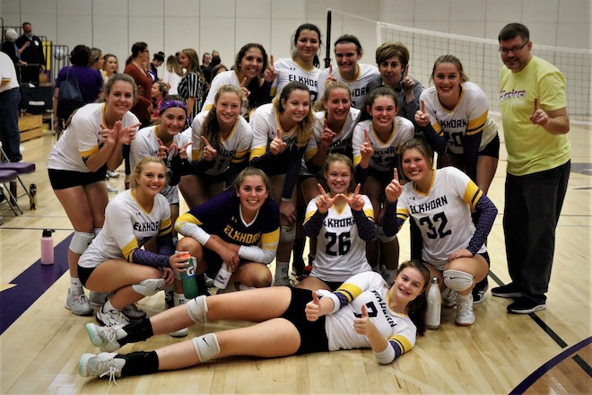 Upset by Panthers ends Elks volleyball run