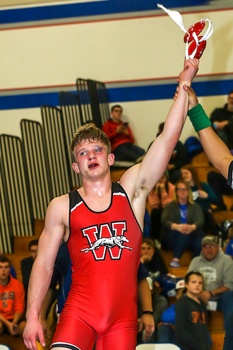 Whitewater wrestlers stamp tickets to sectional