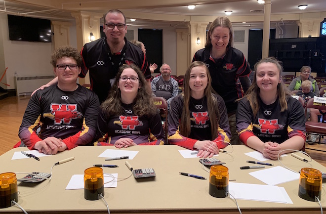 WSD bowl team earns second