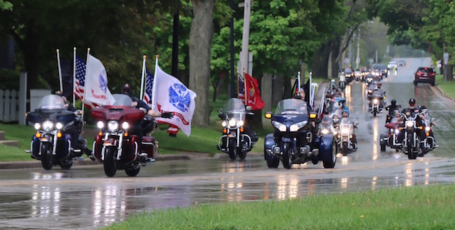 Ride of remembrance