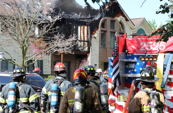 Residents displaced by Delavan apartment fire