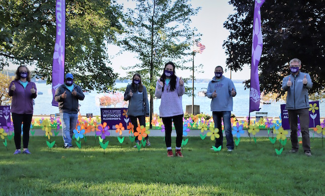 Walk to End Alzheimer's projected to raise more than $90,000