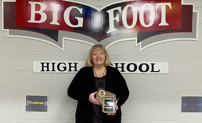 Lisa Konkel named Rural Teacher of the Year