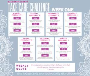 Find support via the Take Care Challenge