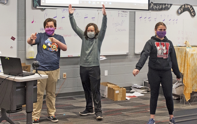 Whitewater kids to present virtual play