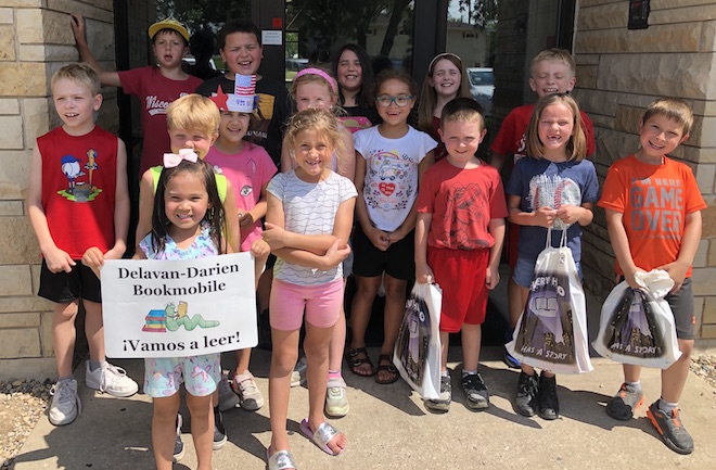 Bookmobile a chance to avoid summer slide