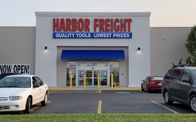 Harbor Freight Tools open for business