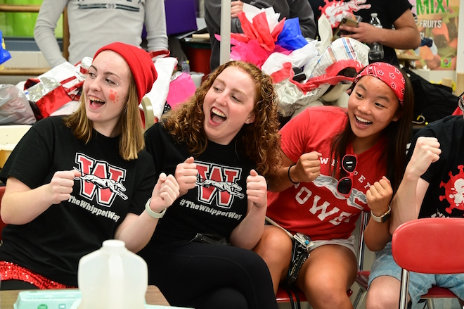 Whippets celebrate homecoming